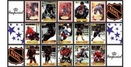 1995 1996 Imperial Bashan NHL Hockey Sticker Set of 161