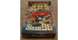 1996 Imperial Bashan NHL Full Box of 48 Sticker Packages (288 stickers in box) (Never Opened)