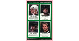 1997 Gatorade NHLPA Stickers Panel #6