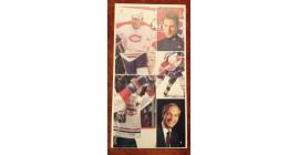 1987 Vachon Canadiens Panel #37 (5659)