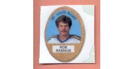 1983 Funmate Puffy #91-Rob Ramage