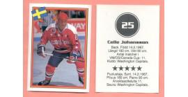 1993 Semic Sweden #25-Calle Johansson