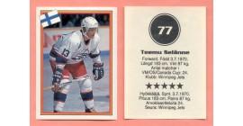 1993 Semic Sweden #77-Teemu Selanne