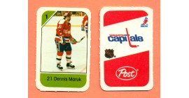 1982 Post Mini Cards #87-Dennis Maruk