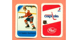 1982 Post Mini Cards #93-Gaetan Duchesne