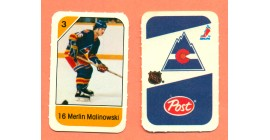 1982 Post Mini Cards #142-Merlin Malinowski