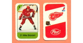 1982 Post Mini Cards #151-Mike Blaisdell