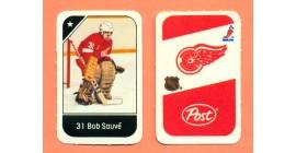 1982 Post Mini Cards #152-Bob Sauve