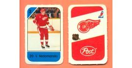 1982 Post Mini Cards #156-Vaclav Nedomansky