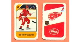 1982 Post Mini Cards #158-Mark Osborne