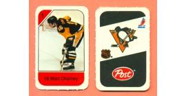 1982 Post Mini Cards #162-Marc Chorney