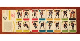 1982 Post Cereal NHL Mini Card Flat Panel Winnipeg jets