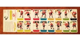 1982 Post Cereal NHL Mini Card Flat Panel Washington Capitals