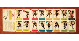 1982 Post Cereal NHL Mini Card Flat Panel Pittsburgh Penguins
