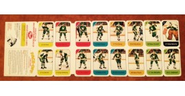 1982 Post Cereal NHL Mini Card Flat Panel St. Louis Blues