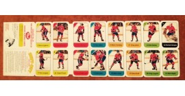 1982 Post Cereal NHL Mini Card Flat Panel Montreal Canadiens