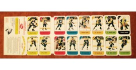 1982 Post Cereal NHL Mini Card Flat Panel Los Angeles Kings