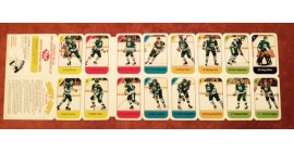 1982 Post Cereal NHL Mini Card Flat Panel Hartford Whalers