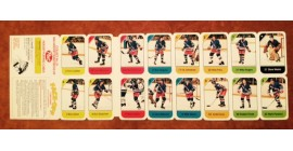 1982 Post Cereal NHL Mini Card Flat Panel New York Rangers