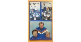 1983 Mcdonald's Oilers Stickers Panel #1