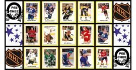 1987 O-Pee-Chee NHL Hockey Mini Card Set of 42