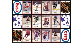 1988 Esso NHL Hockey Stickers Complete Set of 48