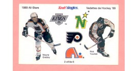 1989 Kraft Singles #2-Wayne Gretzky
