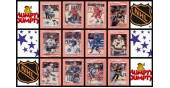 1992 Humpty Dumpty NHL Hockey Stickers Complete Set of 52