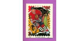 1996 Pro Stamps #9-Bernie Nicholls