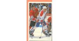 1987 Vachon Canadiens #79- Chris Chelios