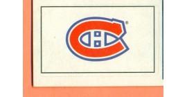 1987 Vachon Canadiens #89- Canadiens Logo