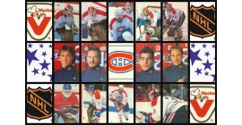 1987 Vachon Canadiens Food Issue NHL Stickers Set of 90 (23 Panels of stickers)