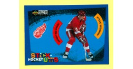 1997 Stick'Ums Upper Deck Collector's Choice  #29-Steve Yzerman
