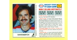 1983 Esso Cards #3-Dave Babych