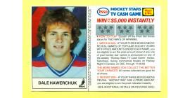 1983 Esso Cards #9-Dale Hawerchuk