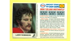 1983 Esso Cards #16-Larry Robinson