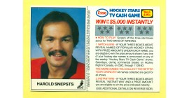 1983 Esso Cards #18-Harold Snepsts