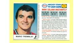 1983 Esso Cards #20-Mario Tremblay