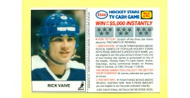 1983 Esso Cards #21-Rick Vaive