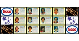 1983 Esso NHL Mini Card Set of 21 Factory Unscratched Panels