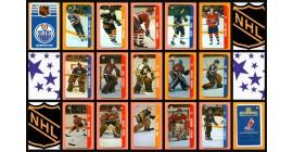 1983 Souhaits Renaissance NHL Mini Plastic Card Set of 140 Pieces