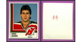 1987 PANINI 1 of 1 PROOF #84-Greg-Daren Adams