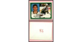 1988 PANINI 1 of 1 PROOF #86-Craig Hartsburg