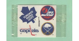 1988 Post #5- Maple Leafs Jets Capitals Sabres Logo