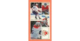 1987 Vachon Canadiens Panel #9 (5467)